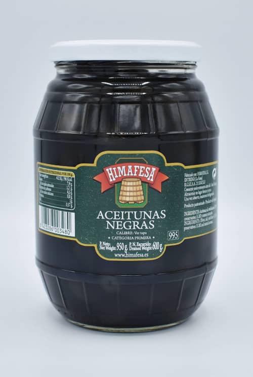 barril 995 aceitunas negras