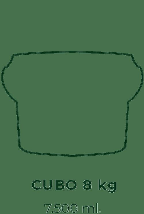 silueta cubo 7500